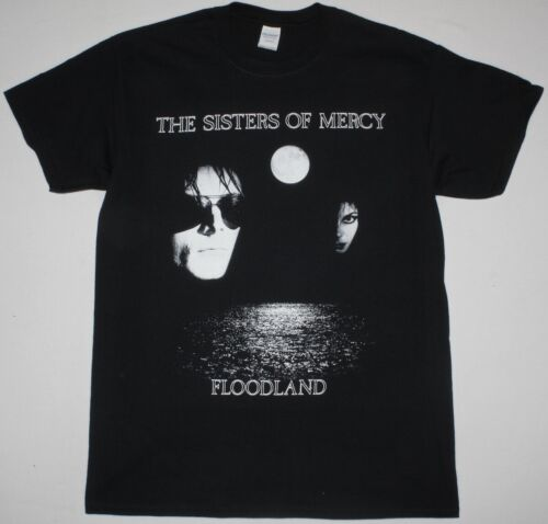 THE SISTERS OF MERCY FLOODLAND POST PUNK GOTHIC ALTERNATIVE NEW BLACK T-SHIRT