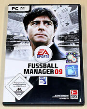 FIFA FUSSBALL MANAGER 09 - PC SPIEL - EA SPORTS 2009