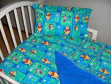 Winnie the POOH Toddler Crib Bedding Rag Quilt Sheet Pillow Case TIGGER PIGLET