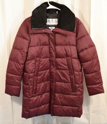 Barbour Women's Quilted Puffer Cranberry Size 8 - image 1