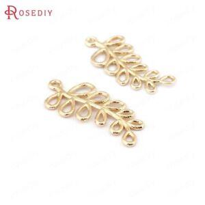 6pcs Gold Brass Micro Cubic Zirconia Rabbit Pendants Nickel Free Charms 19x16mm
