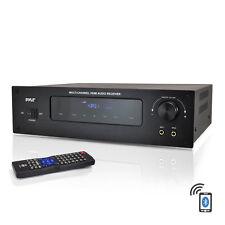Pyle Bluetooth 5.1 Channel HDMI Digital Stereo Receiver Amplifier AM/FM 300 Watt