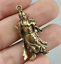 40MM-Collect-Curio-Chinese-Bronze-Guan-Gong-Yu-Warrior-God-Amulet-Small-Pendant thumbnail 3
