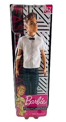 Barbie Fashionistas Ken Doll #117 Plaid Pants Brand NEW in Box