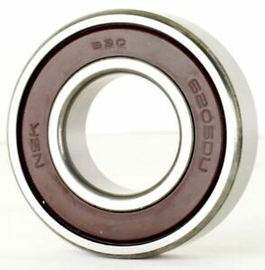 NSK 6205DDU 6205-2RS ball bearing 25x52x15 mm double-sided sealed