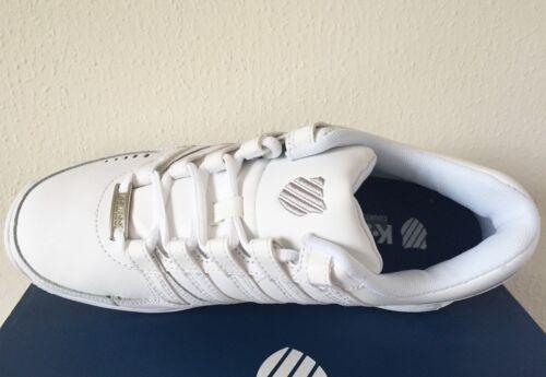 K-Swiss Men/'s Baxter Athletic White//Silver