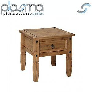 Core-Products-CR906-Classic-Corona-1-Drawer-Lamp-Table-Rustic-Pine