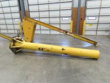 Abell Howe 14 Ton Free Standing Work Station I Beam Jib Crane 14 Span 12 Hub