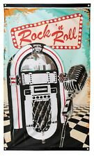 Item 3 Rock N Roll American Diner Themed Birthday Party Event Tableware Decorations