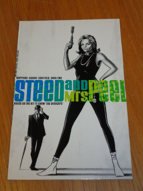 Steed and Mrs Peel Book 2 by Grant Morrison Eclipse (Paperback)< 9781870084802
