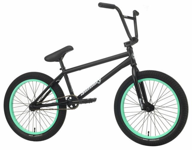 "Preto Fosco Sunday 2020 Forecaster Siemon Bicicleta Bmx Completa 20.75/"""