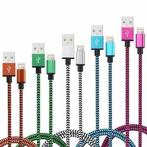 CABLE-POUR-IPHONE-6-5-7-8-XS-XR-PLUS-IPAD-IPOD-CHARGER-USB-RENFORCE-LOT-1M-2M-3M
