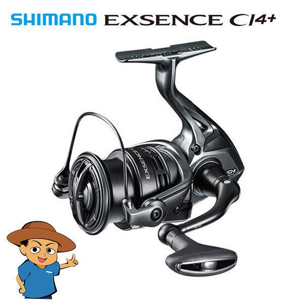 Shimano EXSENCE CI4 4000MXG fishing spinning reel 2018 model