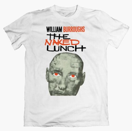 coil ginsberg kerouac gysin WILLIAM BURROUGHS /'Naked Lunch/' T-shirt nirvana