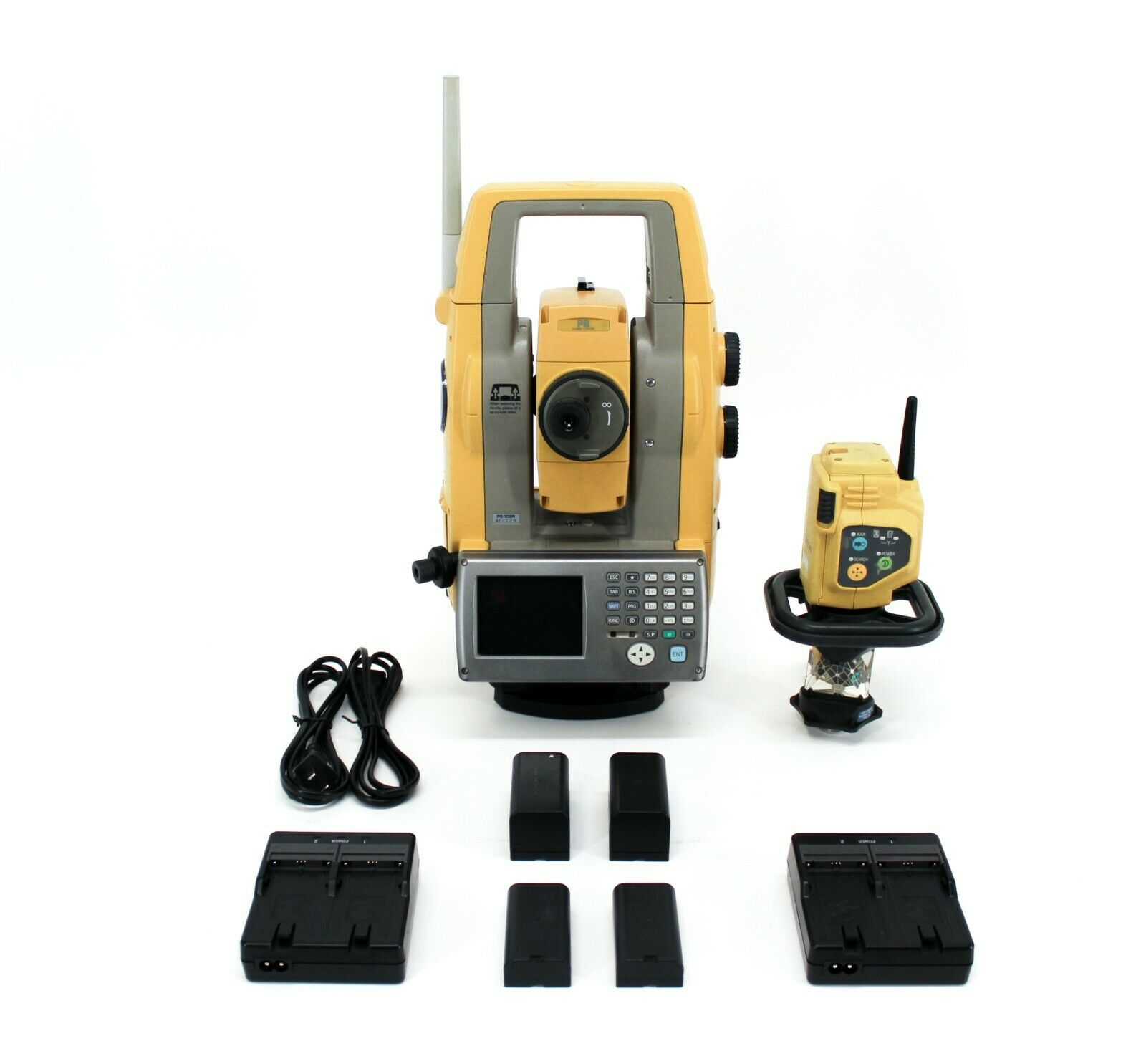 """Topcon PS-103A 3"""" Robotic Total Station Kit w/ RC-5 Remote Controller"""