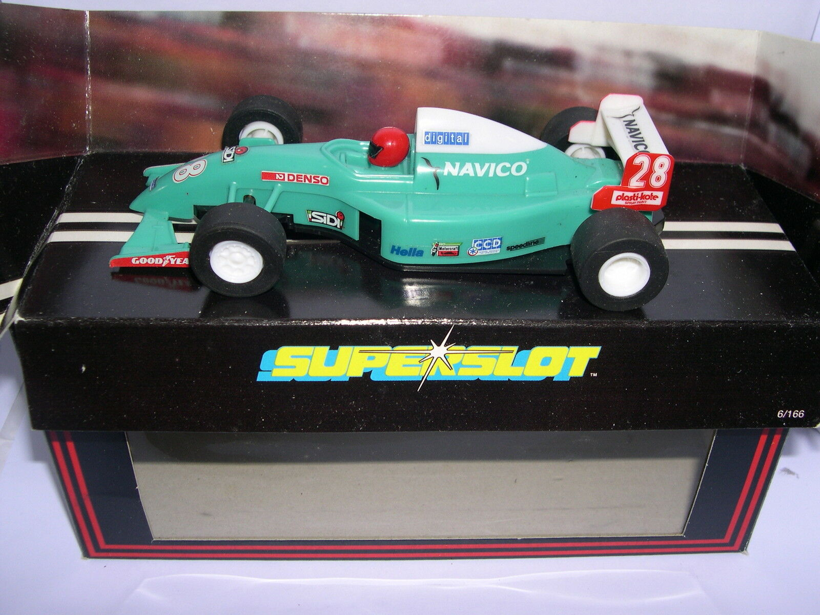 SUPERSLOT H613 FORMULA 3 TEAM NAVICO SCALEXTRIC UK MB