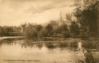 LEAMINGTON SPA ( Warwickshire) : Suspension Bridge -BOOTS 'Pelham' series