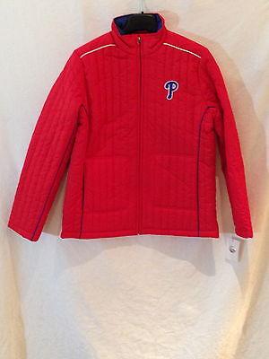 Selbstlos Philadelphia Phillies Damen Leichte Jacket-mlb Team Gear Für Her-small Eine VollstäNdige Palette Von Spezifikationen Sport