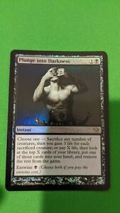 Plunge into Darkness x1 Magic the Gathering Fifth Dawn Edition NEAR MINT// USED