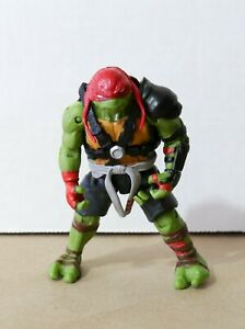 "TMNT Raphael 5"" Toy / Action Figure - Paramount Viacom Playmates 2015 NM"