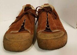 Details zu Clarks Originals Men's Size 8 Brown Suede Casual Shoe Crepe Soles