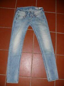 HERRLICHER-schmale-Jeans-PITCH-SLIM-5303-D9661-crystal-hellblau-NEU