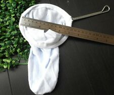 "5"" Thai Tea Coffee Filter Sock Cloth Cotton Bag Strainer Handle"