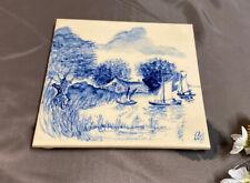 Fliese Kachel Fun Zeit zum Reisen Keramik bedruckt 15x15 cm