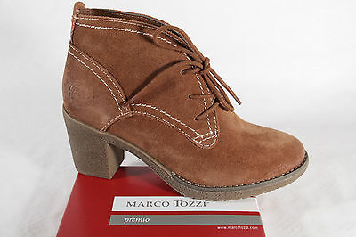 Marco tozzi Women's Boots Ankle Boots Winter Boots Leather Braun New | eBay