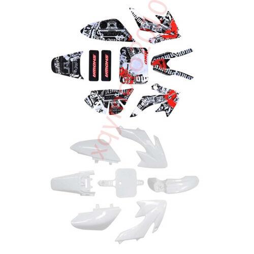 Graphic Sticker CRF XR50 CRF50 110cc 125cc BIKE Plastic Fairing Kit Body Fender
