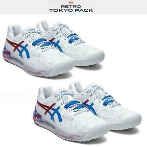 Asics-Gel-Resolution-8-L-E-Retro-Tokyo-2020-Olympic-Men-Women-Tennis-Shoe-Pick-1