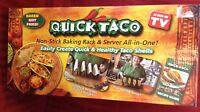 Quick Taco Maker Non-stick Tortilla Baking Rack As Seen On Tv