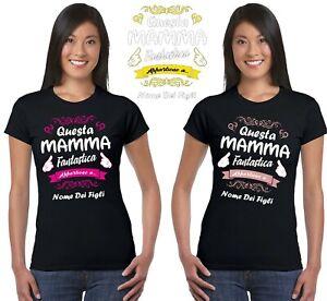 T-SHIRT DONNA FESTA DELLA MAMMA MOTHER/'S DAY THANK REGALO PD1584A PACDESIGN