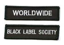 BLACK LABEL SOCIETY WORLDWIDE MEMBER FAN CLUB PATCH SET