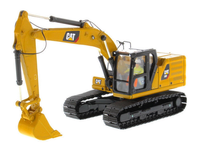 1 50 dm Excavadora Hidráulica Caterpillar Cat 320 Diecast de próxima generación