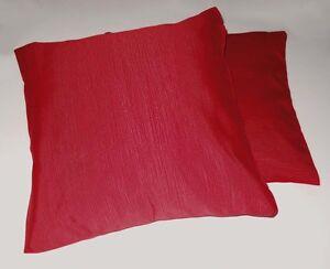 2 cuscini arredo in gros grain cm 50x50 cuscino tessuto pesante