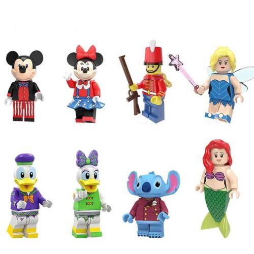 Mermaid Fairy Mickey Duck April Building Blocks Toys Girls Boys New Figures 2020