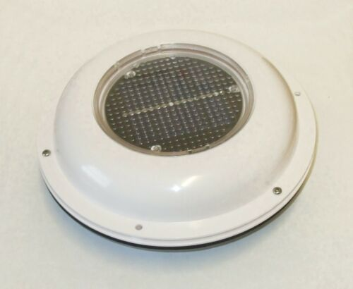 Solar roof ventilator with nonsnagging plastic cover, boat, caravan P175694