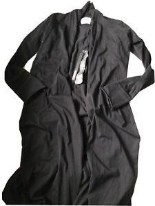 Nununu-Black-Light-Cardigan-Size-8-9-Years-NWT-HTF