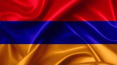 Armenia Flag Bügelbild, Markenqualität Waschbar Bis95°c H7cmxb10cm Auswahlmaterialien