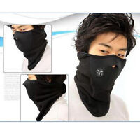 Neck Warm Face Mask Veil Guard Sport Snow Bike Black