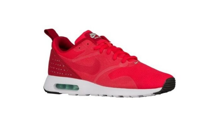 30f0ea97c Nike Air Max Tavas Action Red White Mens Running Shoes SNEAKERS ...