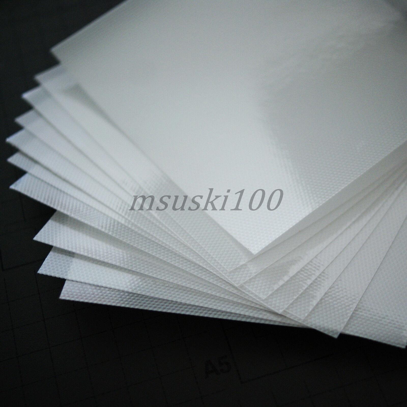 Hot Fix Transfer Mylar Acrylic Paper Sheets Rhinestone