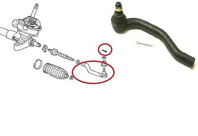 CTR Made in Korea with 3 Years Warranty 2011 For Nissan Juke S Front Right Outer Steering Tie Rod End