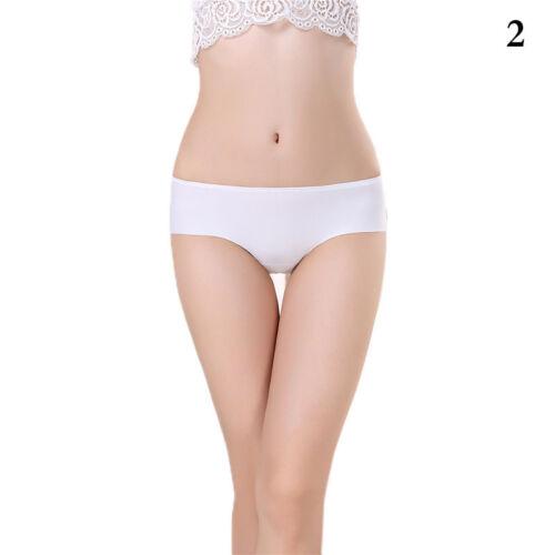 Fashion Women Seamless Invisible Underwear Thong Briefs Cotton Spandex Pan Uzlh