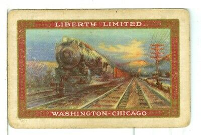 "Single Vintage Railroad Playing Card /""Union Pacific RR/"" UPRR 8b 1941"