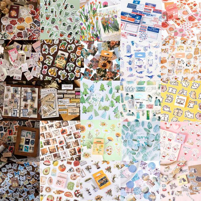 45PCS Stickers DIY Scrapbooking Album Diary Decor Planner Paper Label Stickers