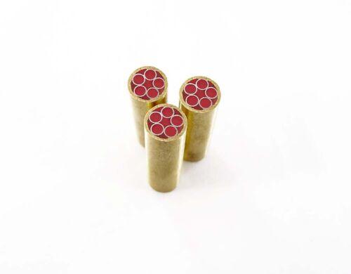 1X 8mm Diámetro mosaico tubo de latón Remache Herramienta Cuchillo que material de la decoración