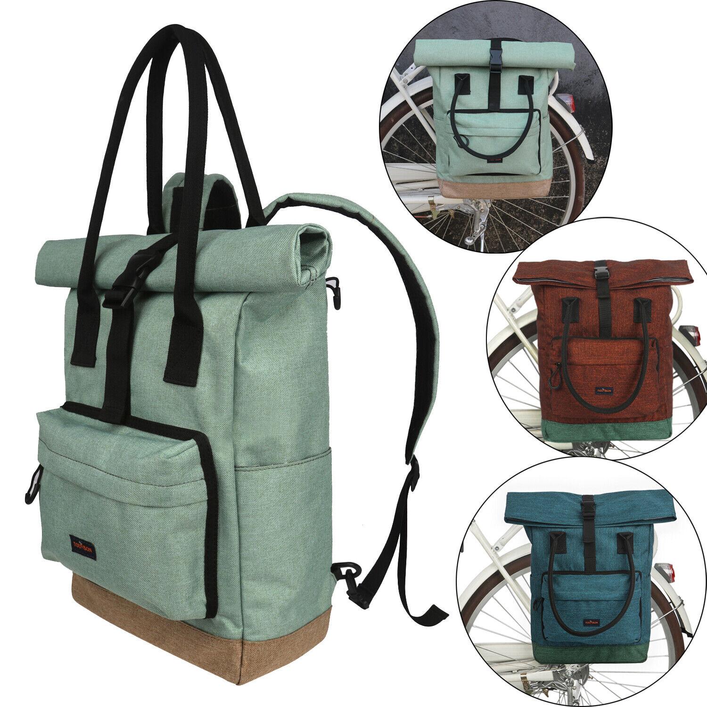 Tourbon Fahrrad Pannier Rear Rack Tasche Saddle Backpack Travel Case 3 Farbes Options