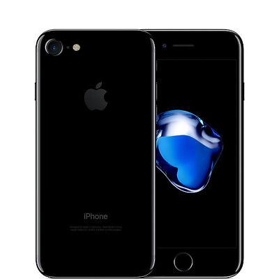 APPLE IPHONE 7 128GB JET BLACK  + ACCESSORI - RICONDIZIONATO 12 MESI GARANZIA